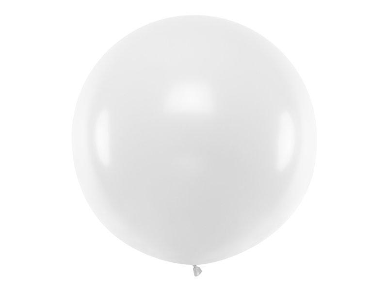 Gigantiskais balons 1m, balts