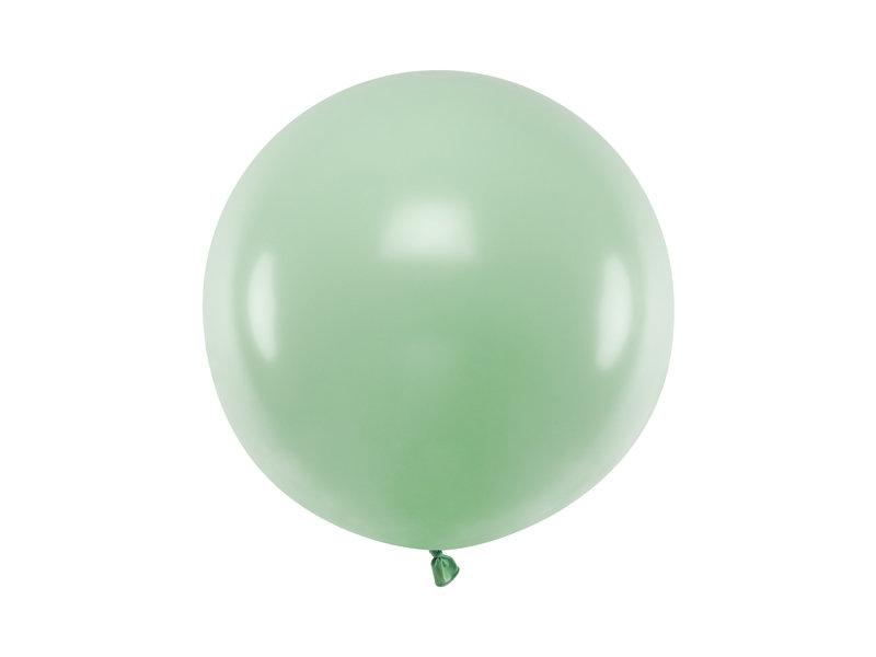 Gigantiskais balons 60cm, pistāciju zaļš