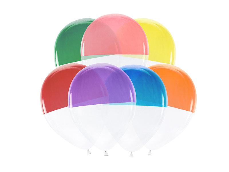 Divkrāsu balonu sajaukums, 30cm