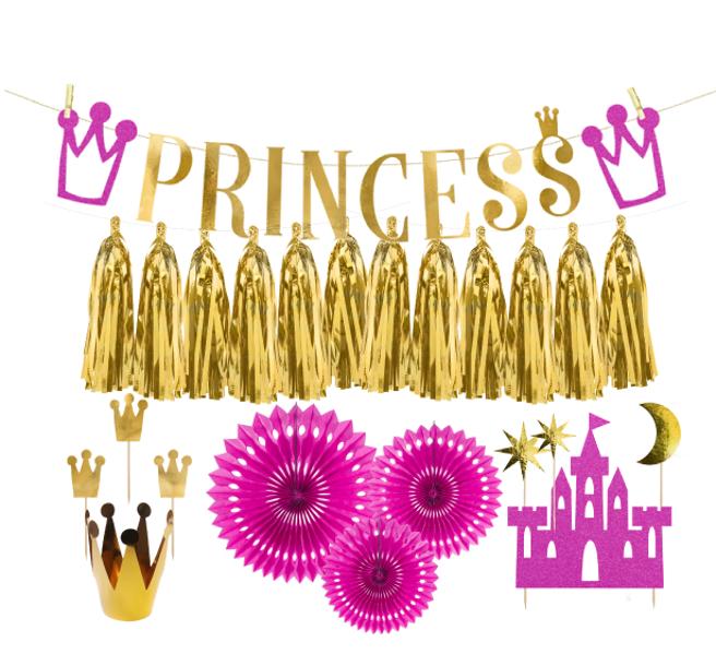 Dekoru komplekts Princese