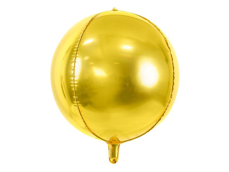 Folija balons Bumba 40cm, zelta tonī