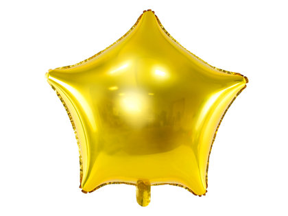 Folija balons Zvaigzne 48cm, zelta tonī