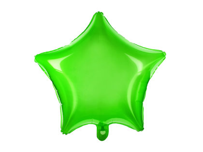 Folija balons Zvaigzne 48cm, ābolu zaļš