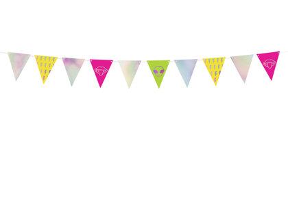Virtene Deju ballītes karodziņi 18x180cm
