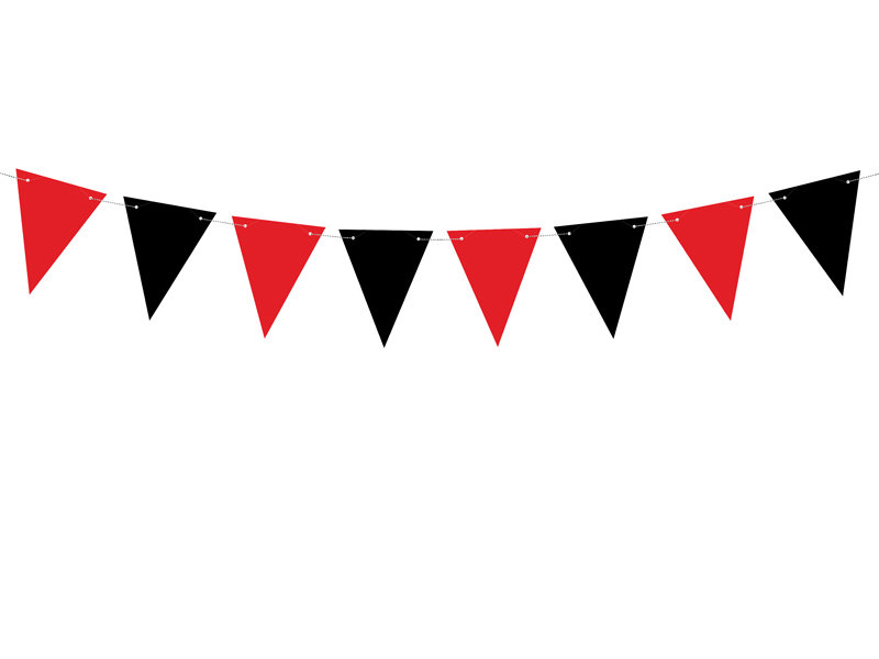 Virtene Pirātu karodziņi 15x130cm
