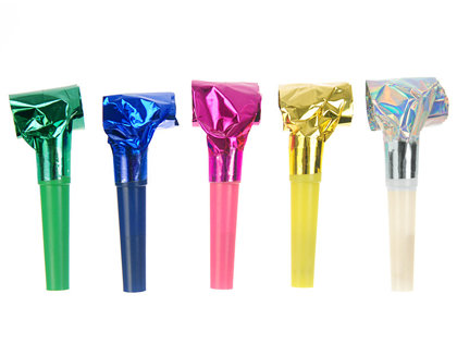 Ballīšu svilpes, hologrāfisko krāsu sajaukums