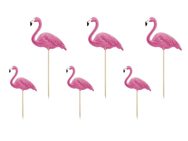 Uzkodu dekors Aloha Flamingo 15-23.5cm