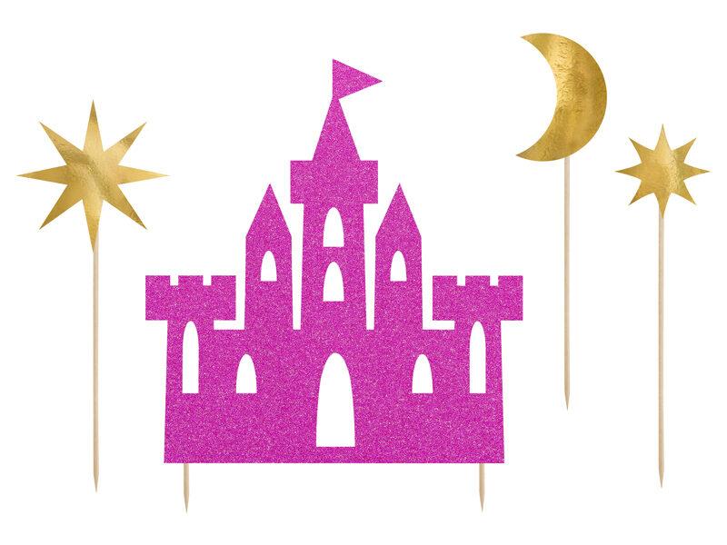 Kūkas dekors Princeses pils 17-21.5cm