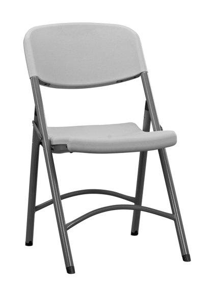Krēsls saliekams Normanchair, gaiši pelēks