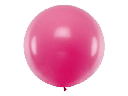 Gigantiskais balons 1m, fuksijas rozā