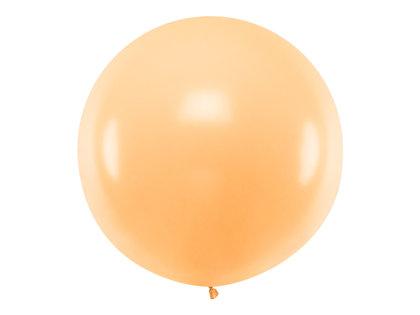 Gigantiskais balons 1m, maigā persiku tonī