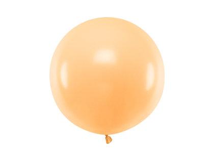 Gigantiskais balons 60cm, maigā persiku tonī