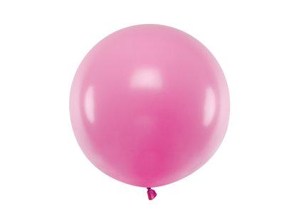 Gigantiskais balons 60cm, fuksijas rozā