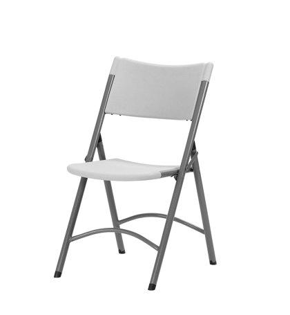 Krēsls saliekams Ottochair, gaiši pelēks