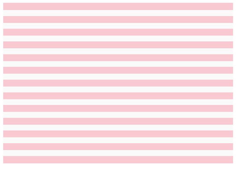 Dāvanu papīrs Mazuļi 100x68.5cm, strīpains balts ar maigi rozā