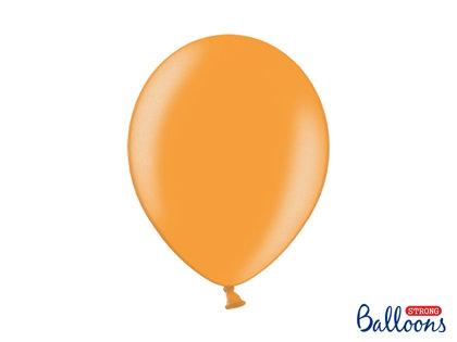 Izturīgie baloni perlamutra 30cm, mandarīnu oranži
