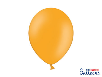 Izturīgie baloni 30cm, mandarīnu oranži