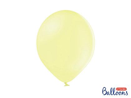 Izturīgie baloni 30cm, gaiši dzelteni