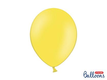 Izturīgie baloni 30cm, citrona dzelteni
