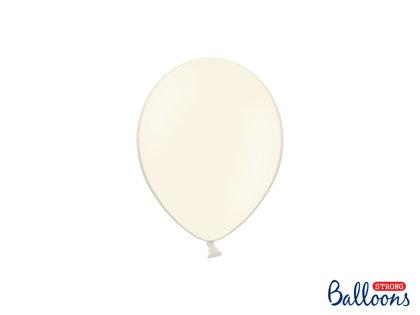 Izturīgie baloni 12cm, krēmkrāsā