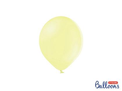 Izturīgie baloni 12cm, gaiši dzelteni