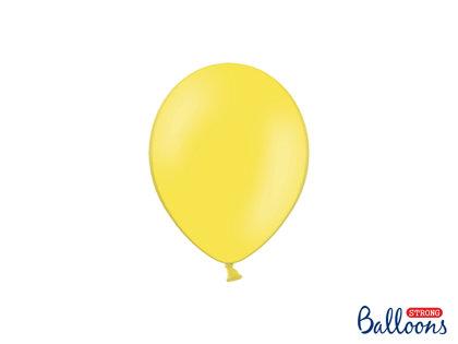 Izturīgie baloni 12cm, citrona dzelteni