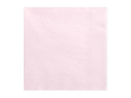 Salvetes 33x33cm, maigi rozā