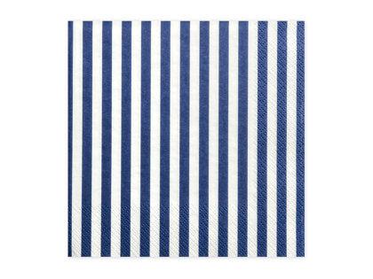 Salvetes 33x33cm, strīpainas balts ar zilu