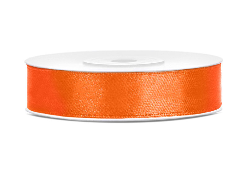 Lente atlasa 12mm/25m, oranža
