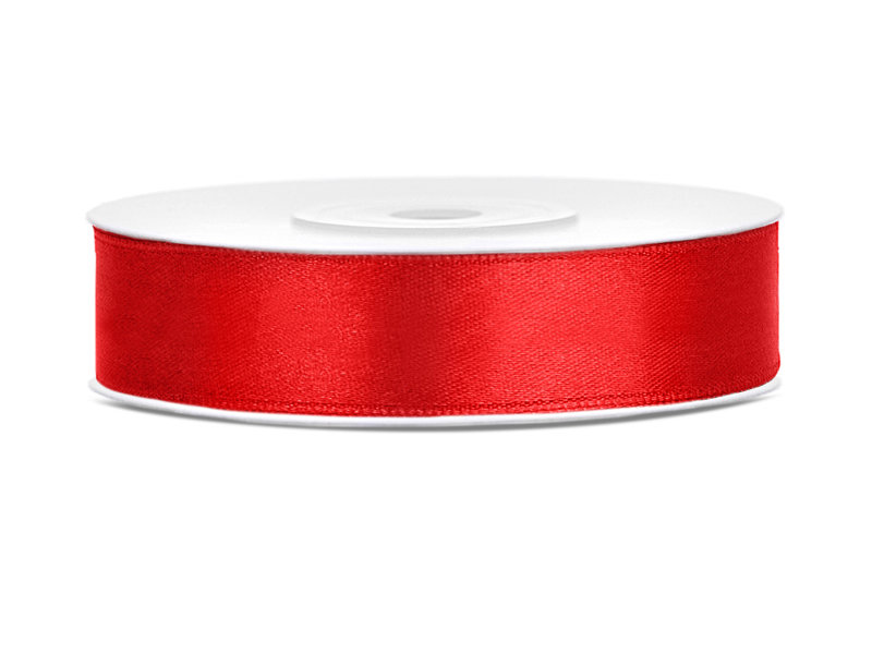 Lente atlasa 12mm/25m, sarkanā tonī