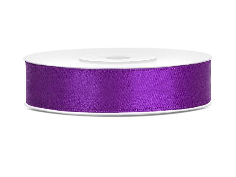 Lente atlasa 12mm/25m, violeta