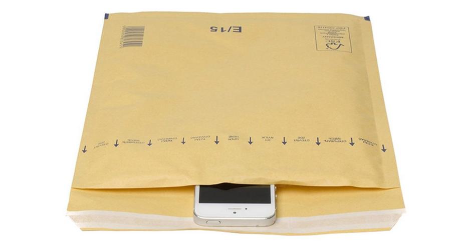 Aploksne sūtījumiem polsterēta 30x43cm, brūna