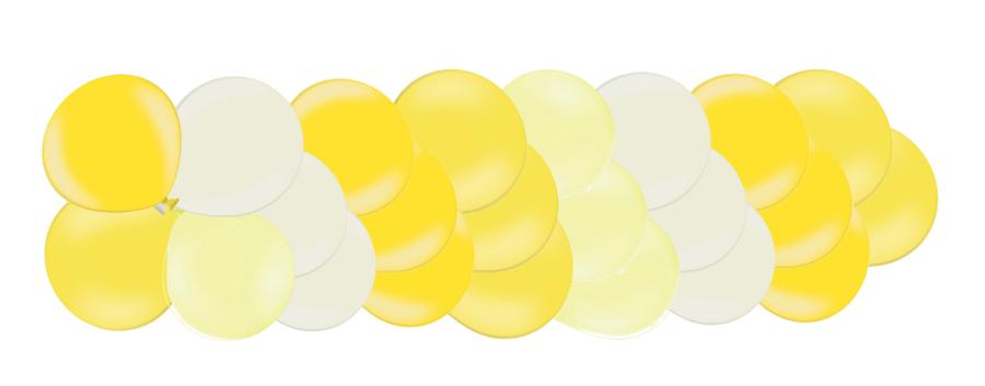 Klasiskā virtene Saldumi, gaiši dzeltena