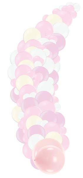 Fotosesijas virtene Saldumi, maigi rozā toņos